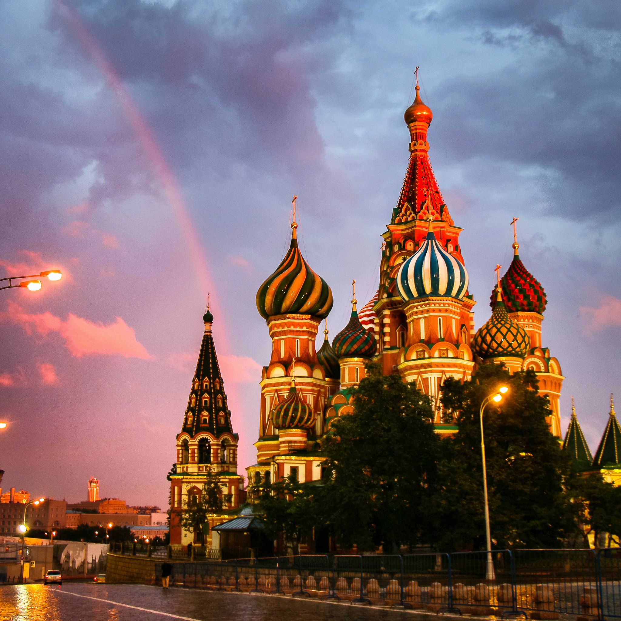 Saint Basil's Cathedral, Moscow, Russia - photo by travelingmipo under CC BY 2.0
