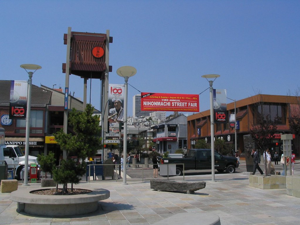 Peace Plaza in Japantown - photo by Ken Lund under CC BY-SA 2.0