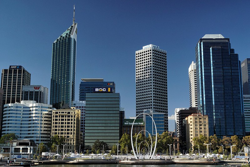 free things to do in Perth - Elizabeth Quay in Perth - photo by David Davies under CC BY-SA 2.0
