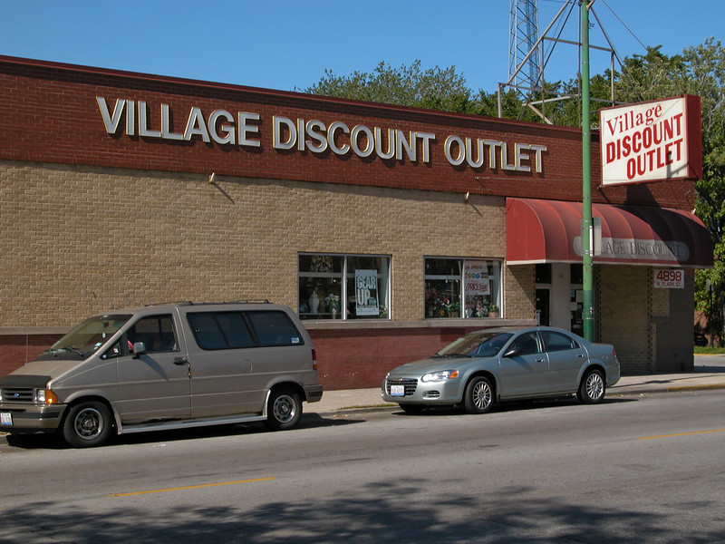 Village Discount Outlet Store 11 in Andersonville - photo by Seth Tisue under CC BY-SA 2.0