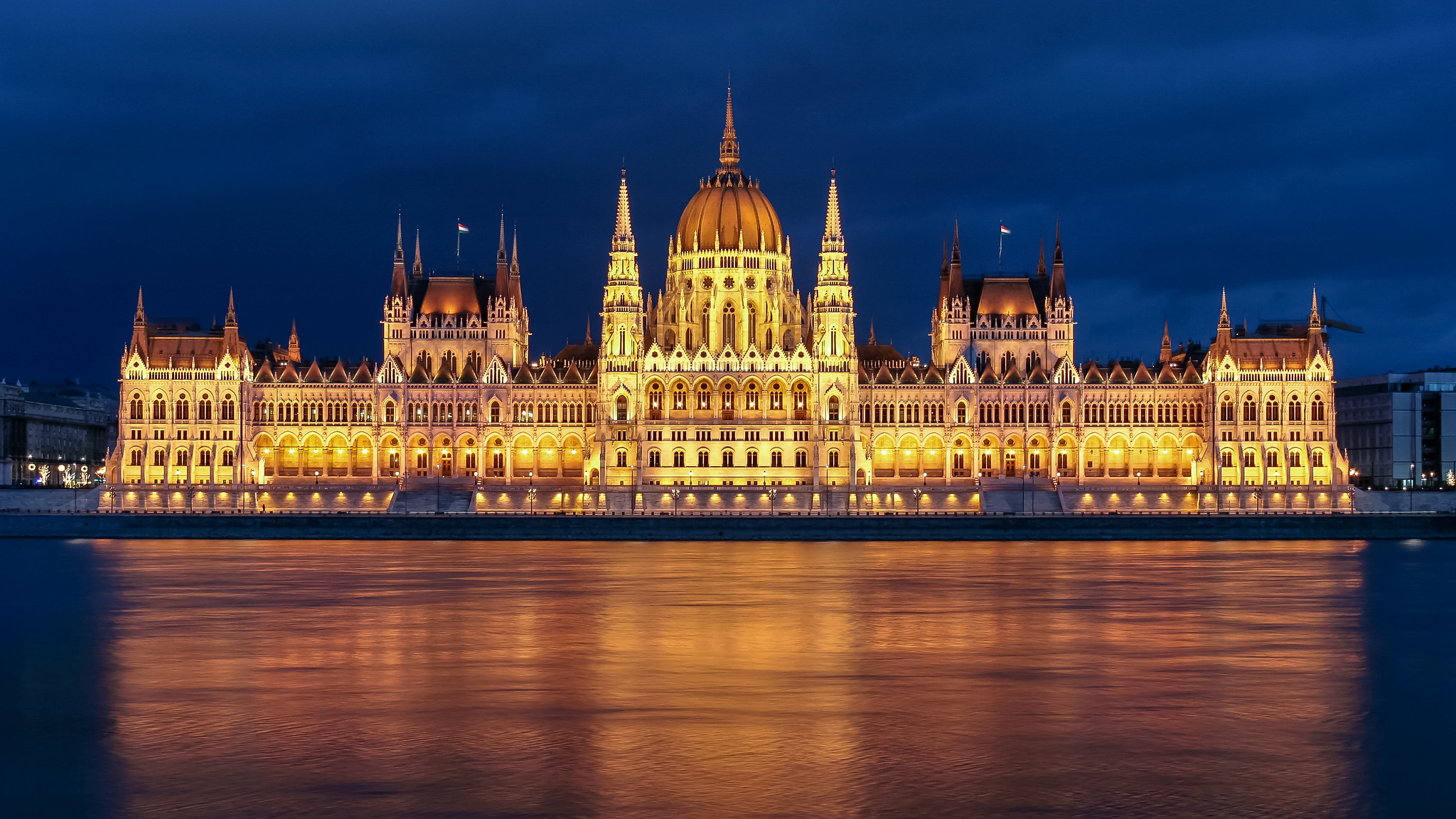 Anthony Bourdain Budapest - The Hungarian Parliament Building in Budapest - photo by Jorge Franganillo under CC BY 2.0