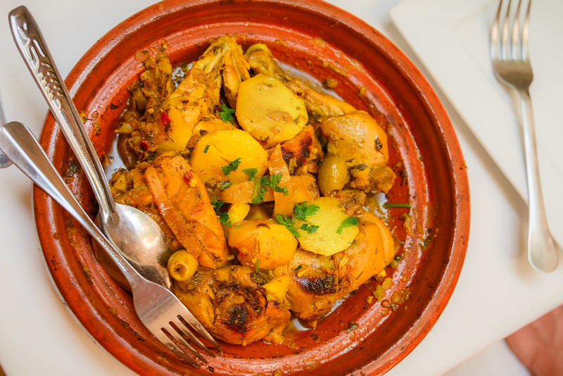 Anthony Bourdain Tangier - Lemon Chicken Tagine - photo by Anthony Tong Lee under CC BY-ND 2.0