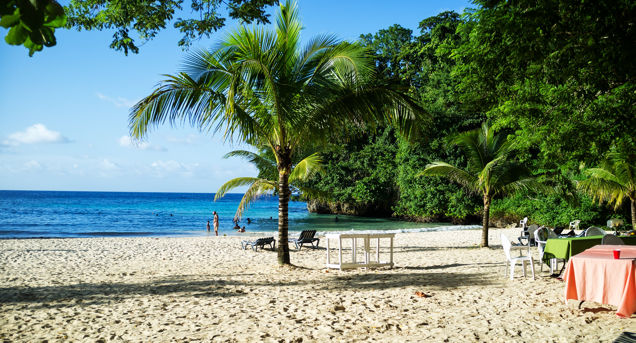 Frenchman's Cove in Port Antonio, Jamaica - photo by nigel burgher under CC BY 2.0