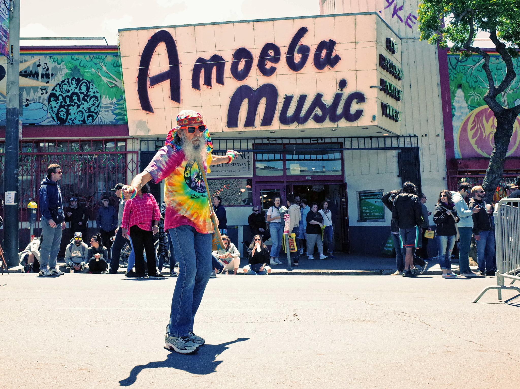 Amoeba Music on Haight Street - photo by Kathy Drasky under CC BY 2.0