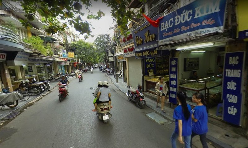 best shopping in Hanoi - Hàng Bạc in Hanoi - photo by nhadatvideo under CC BY 2.0
