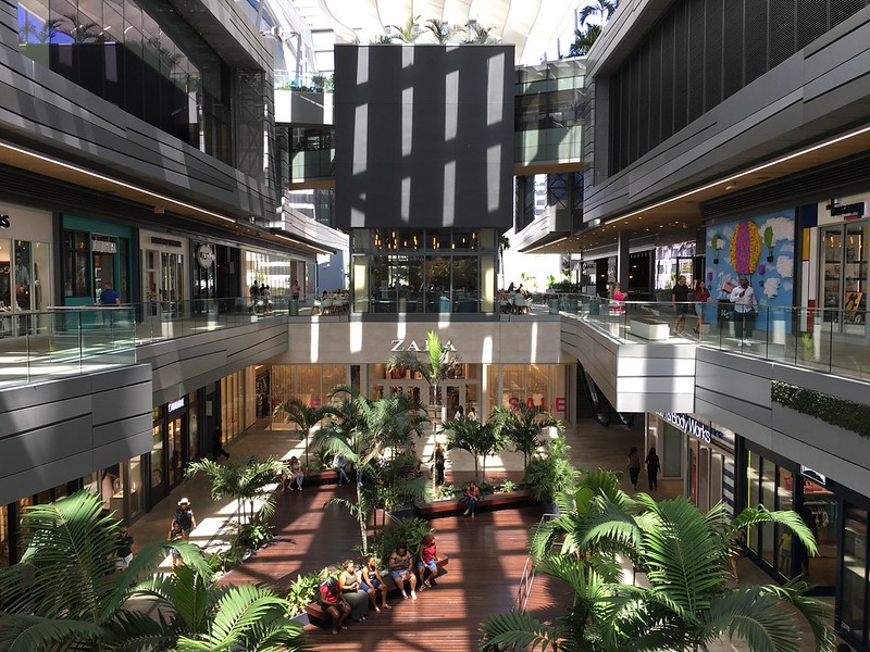 Inside Brickell City Centre - photo by Phillip Pessar under CC BY 2.0