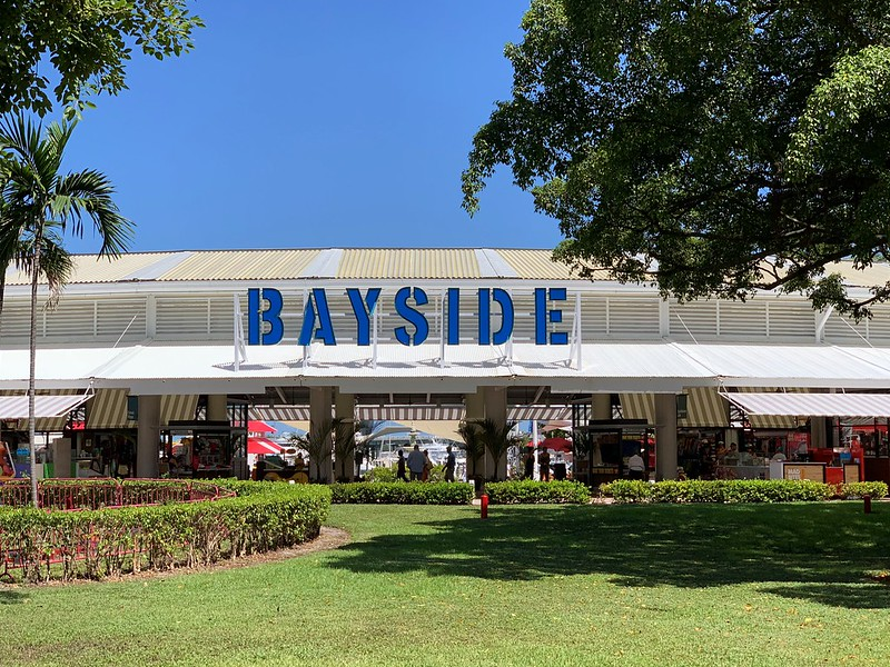 best shopping in Miami - Bayside Marketplace in Downtown Miami - photo by Phillip Pessar under CC BY 2.0