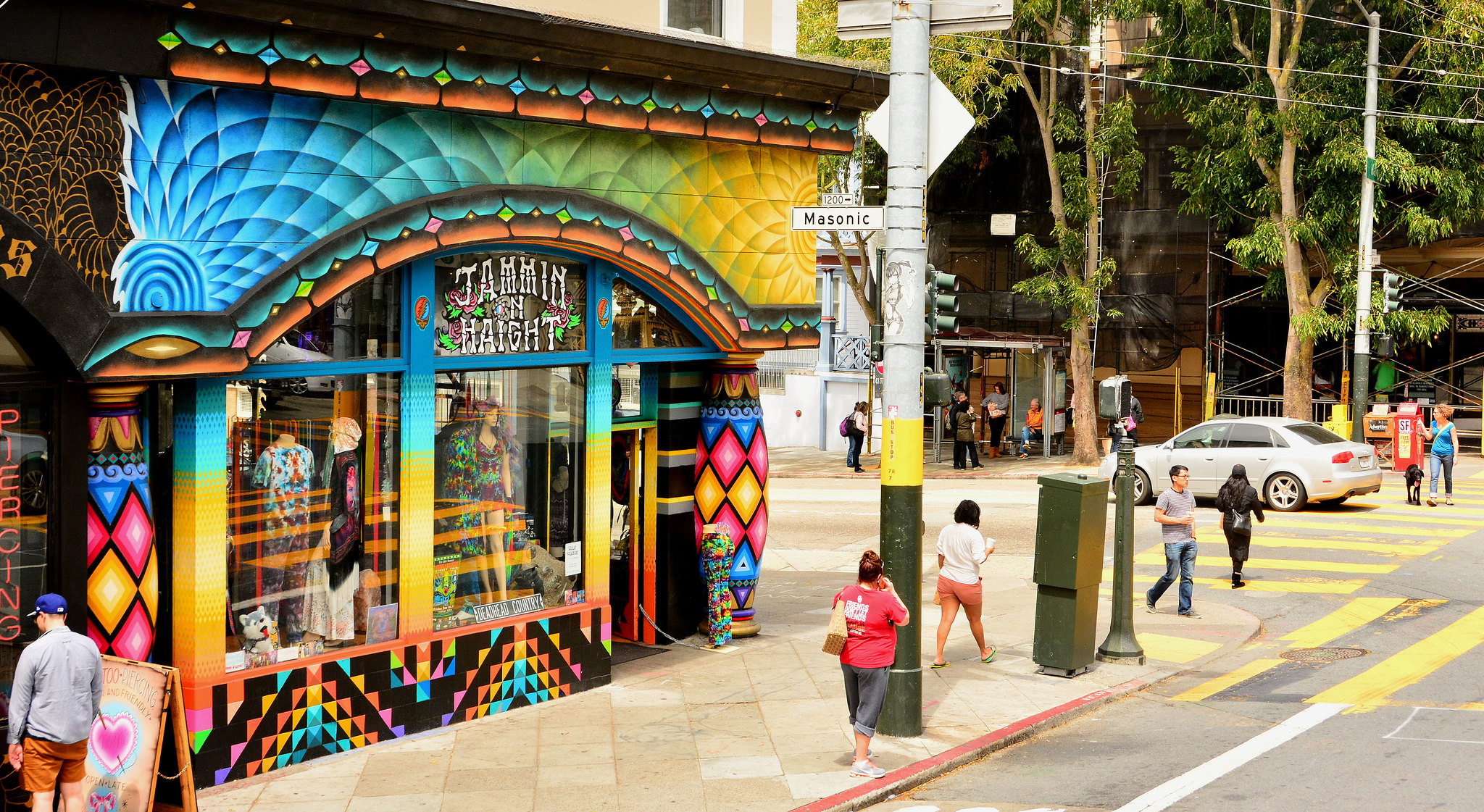 Love on Haight (formerly Jammin on Haight) - photo by Mike McBey under CC BY 2.0