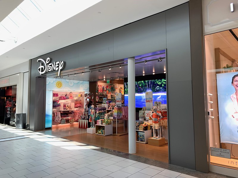 The Disney Store at Dadeland Mall - photo by Phillip Pessar under CC BY 2.0