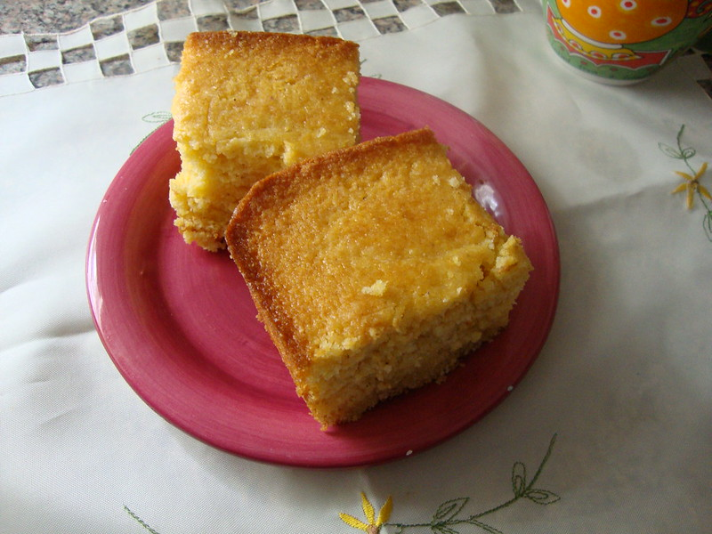 Sweet Buttery Southern Cornbread - photo by princesspumpernickel under CC BY 2.0