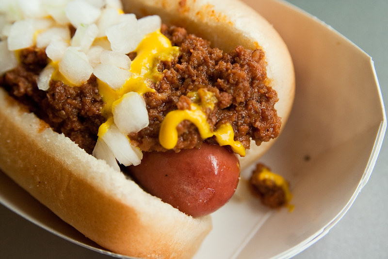 Coney Island Hotdog - photo by Steven Depolo under CC BY 2.0