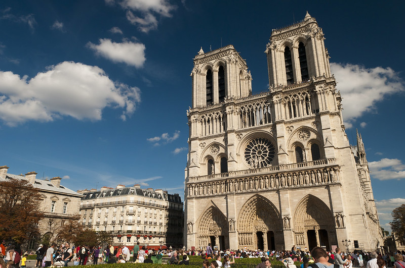 three days in Paris - Cathédrale Notre-Dame de Paris before the 2019 fire - photo by Anna & Michal under CC BY-SA 2.0
