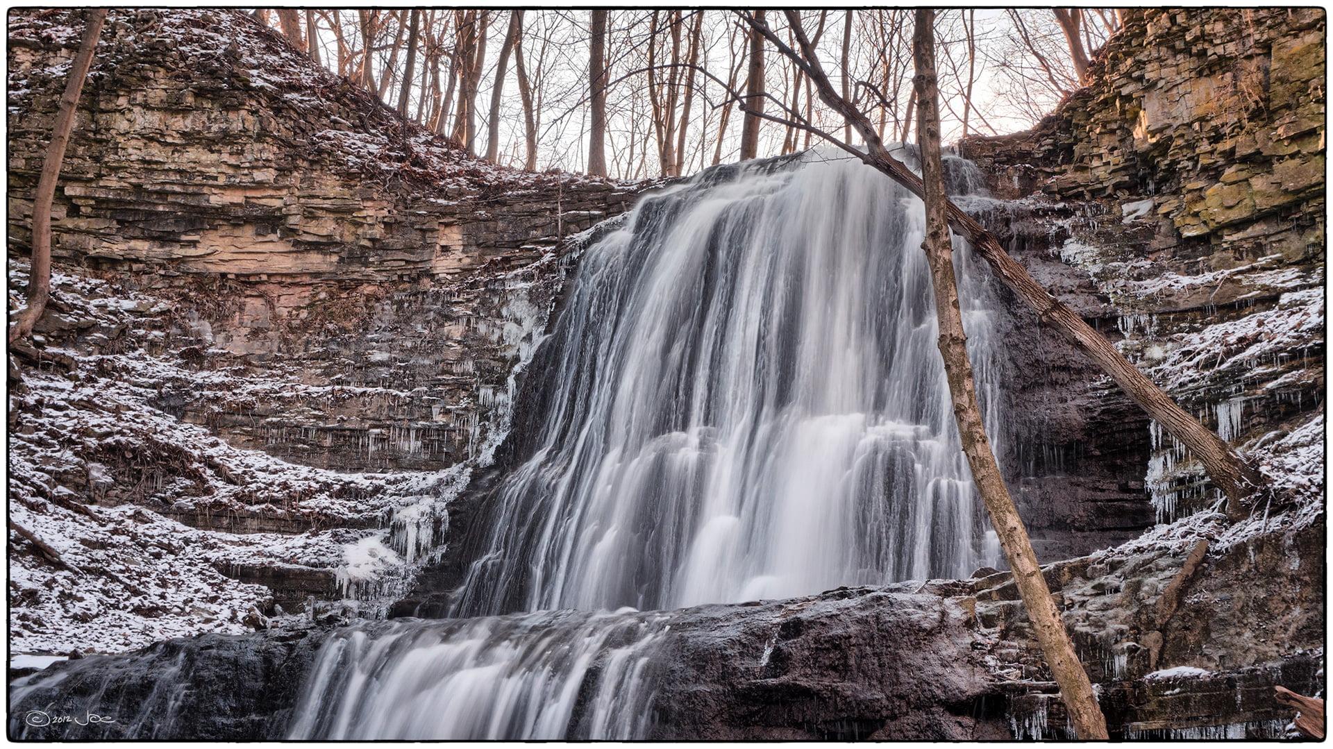 Sherman Falls in Hamilton, Ontario, Canada - photo by Joe deSousa under CC0 1.0