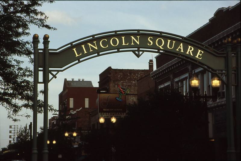 best shopping in Chicago - The Lincoln Square neighborhood in Chicago - photo by Tripp under CC BY 2.0