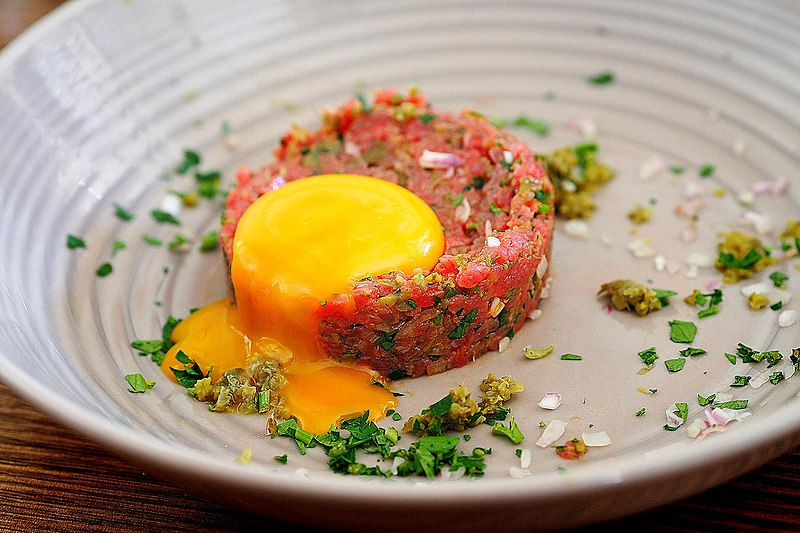 Anthony Bourdain Marseille - Beef Tartare - photo by insatiablemunch under CC-BY-2.0