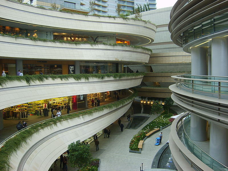best shopping in Istanbul - Kanyon Shopping Mall in Istanbul - photo by .o. under PD-user