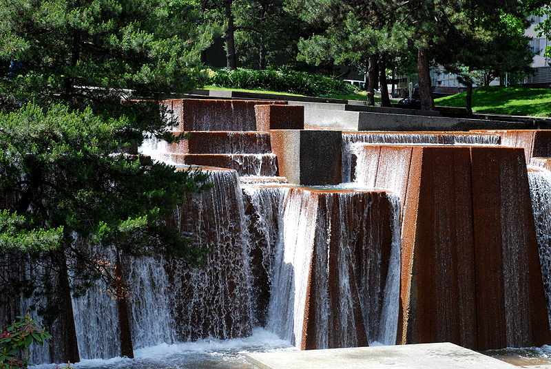 The Keller Fountain at its namesake park - photo by Victorcmyk under CC-BY-SA-3.0 and GFDL