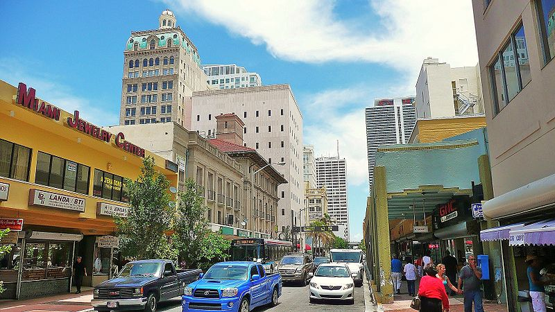 best shopping in Miami - The Miami Jewelry District in Downtown Miami - photo by Averette under CC-BY-3.0
