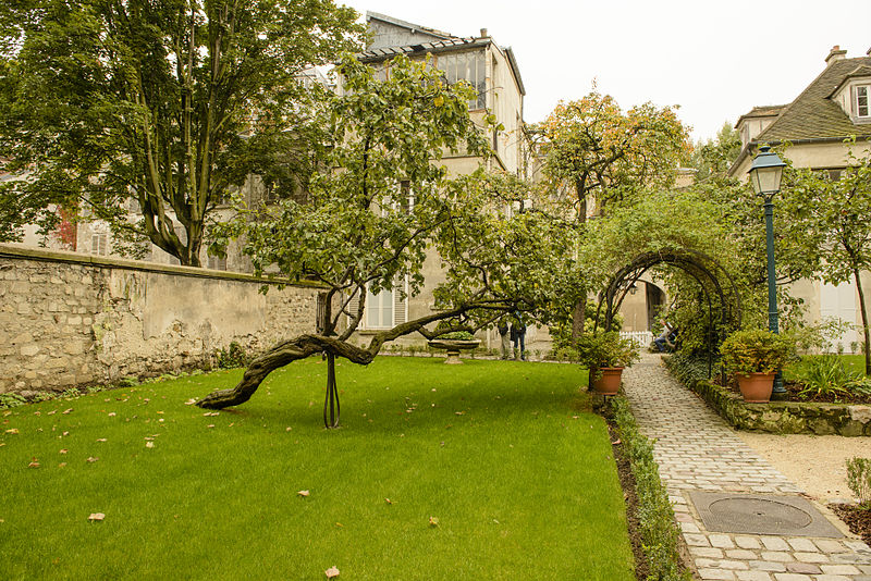 three days in Paris - The garden at Montmarte Museum - photo by Son of Groucho from Scotland under CC-BY-2.0