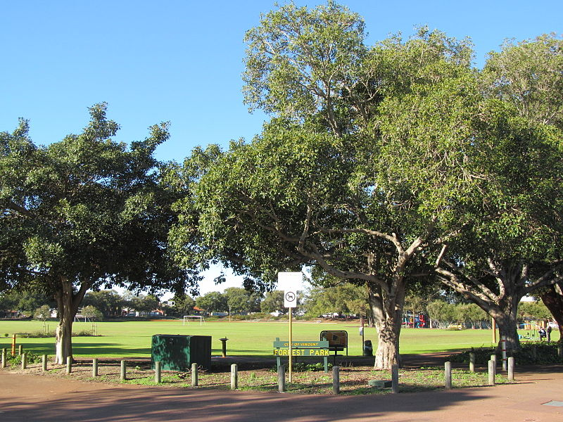 Forrest Park in Mount Lawley - photo by User:Orderinchaos under CC-BY-SA-3.0