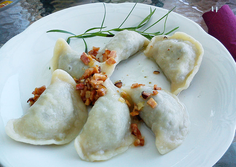 Pierogi - photo by MOs810 under CC-BY-SA-3.0