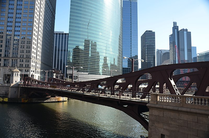A view of River North - photo by Roman Eugeniusz under CC-BY-SA-3.0