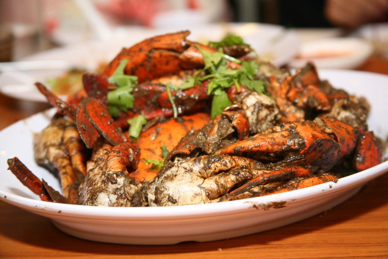 Anthony Bourdain Borneo - Black Pepper Crab - photo by Clemson under CC BY 2.0