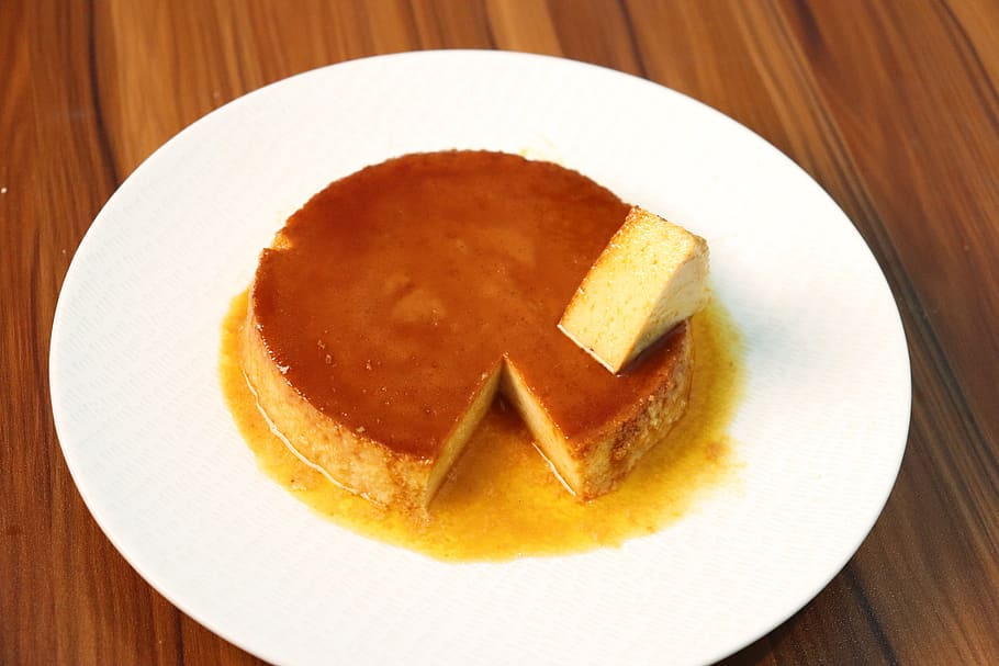 Flan de Leche - photo from pxfuel.com under CC0