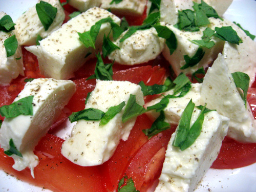 The Layover Rome - Caprese Salad - photo by the Italian voice under CC BY 2.0