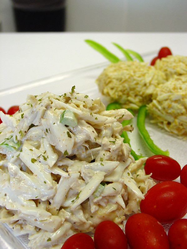 Crab Salad - photo by Tony Weeg Photography under CC BY 2.0