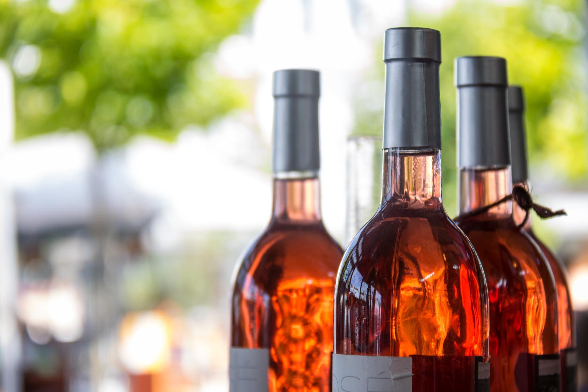 The Layover Paris - Rosé Wine - photo by Susanne Nilsson under CC BY-SA 2.0