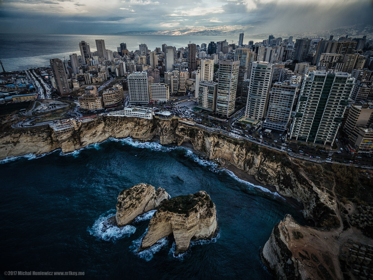 Bourdain's favourite cities - Beirut, Lebanon - photo by Michał Huniewicz under CC BY 2.0
