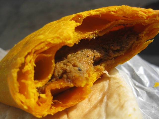 Anthony Bourdain Queens - Jamaican Beef Patty - photo by Jason Lam under CC BY-SA 2.0