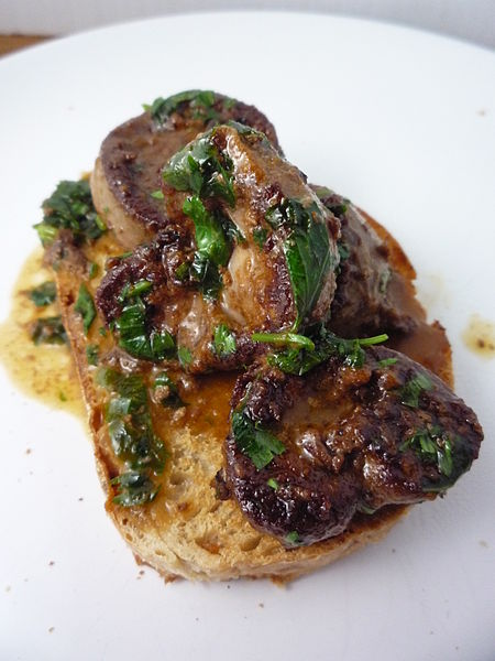 Anthony Bourdain London - Devilled Kidneys - photo by Beck from East Midlands, United Kingdon under CC-BY-2.0