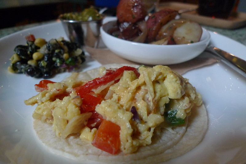 Anthony Bourdain Houston - Texas-style Migas Taco - photo by Ron Dollete under CC BY-ND 2.0