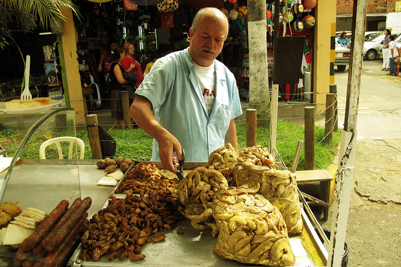 Driven By Food Medellin - Chunchurria - photo by Eddy Milfort under CC BY 2.0