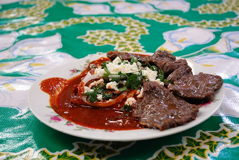 Tasajo Beef - photo by AlejandroLinaresGarcia under GFDL and CC-BY-SA-4.0,3.0,2.5,2.0,1.0