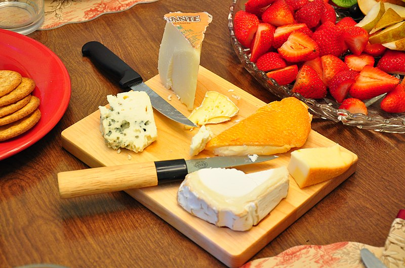 Bourdain's favourite dishes - Family-style Plateau de Fromages - photo by Kimberly Vardeman under CC-BY-2.0