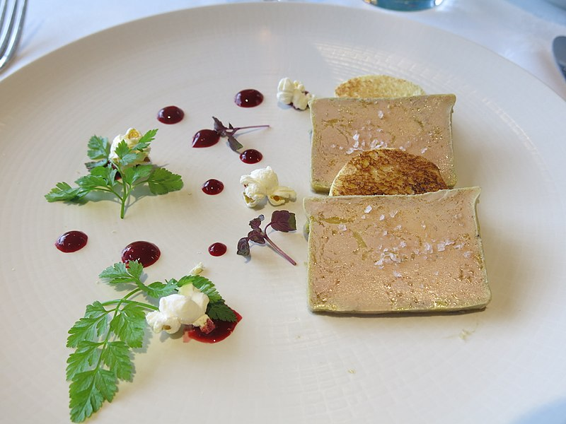 Anthony Bourdain Quebec - Terrine Foie Gras - photo by Tangopaso under PD-self