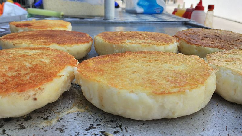 Arepas - photo by Popo le Chien under CC BY-SA 3.0