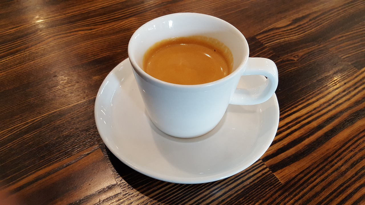 Espresso - photo by Owen Carver under Pixabay License