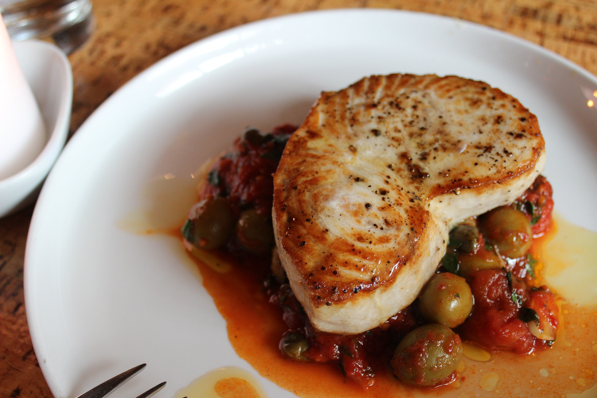 No Reservations New Jersey - Fresh Grilled Atlantic Swordfish - photo by Foodista under CC BY 2.0