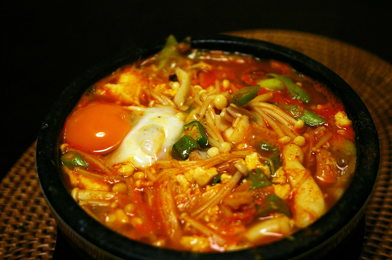 No Reservations New Jersey - Sundubu-jjigae - photo by titanium22 under CC BY-SA 2.0