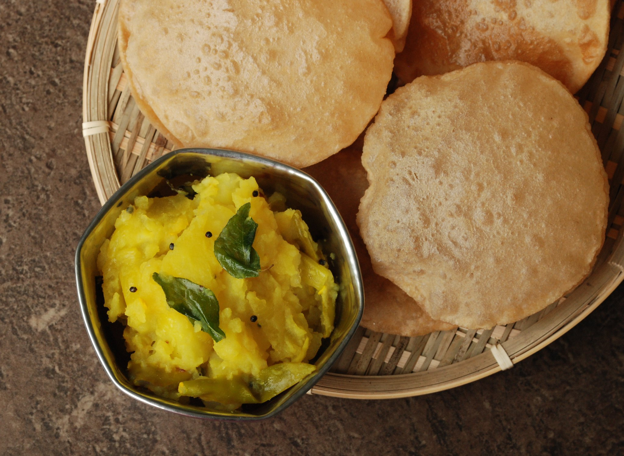 Poori - Bhaji - photo by Yummy O Yummy under CC BY 2.0