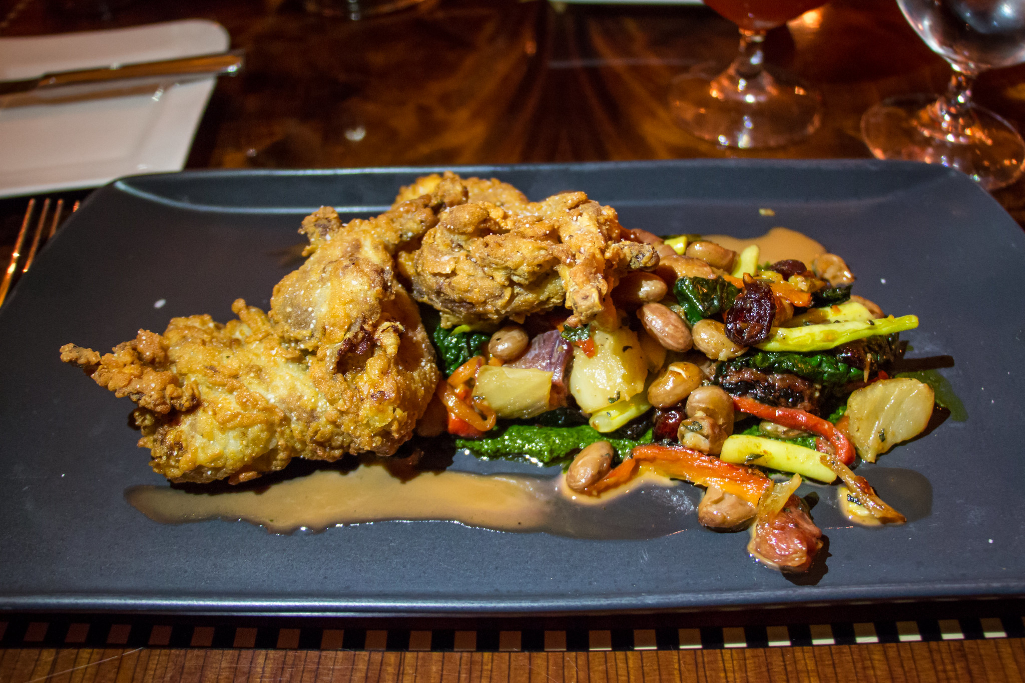 Anthony Bourdain Atlanta - Buttermilk Fried Quail - photo by HarshLight under CC BY 2.0