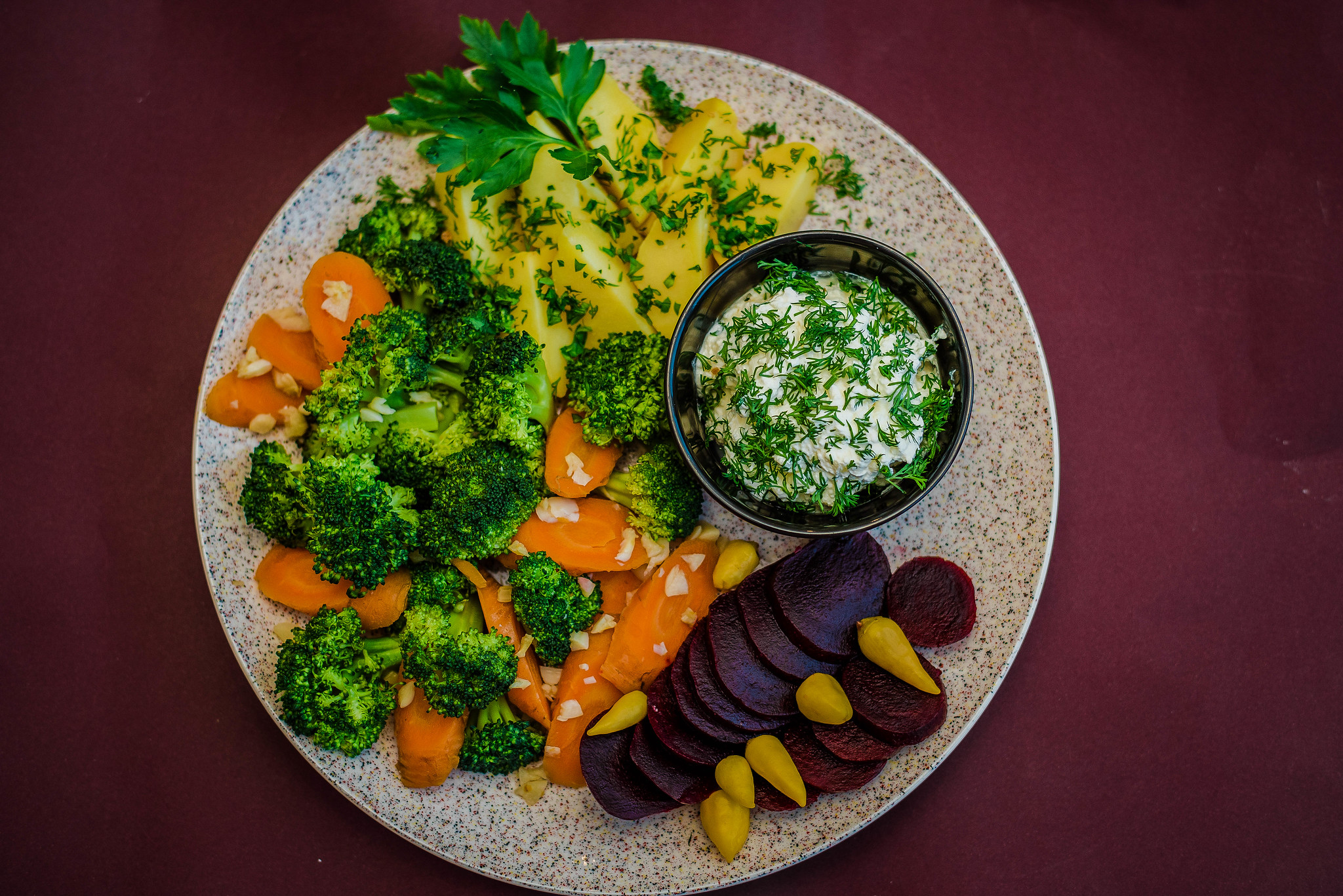 Anthony Bourdain Atlanta - Vegetable Plate - photo by Marco Verch Professional Photographer and Speaker under CC BY 2.0