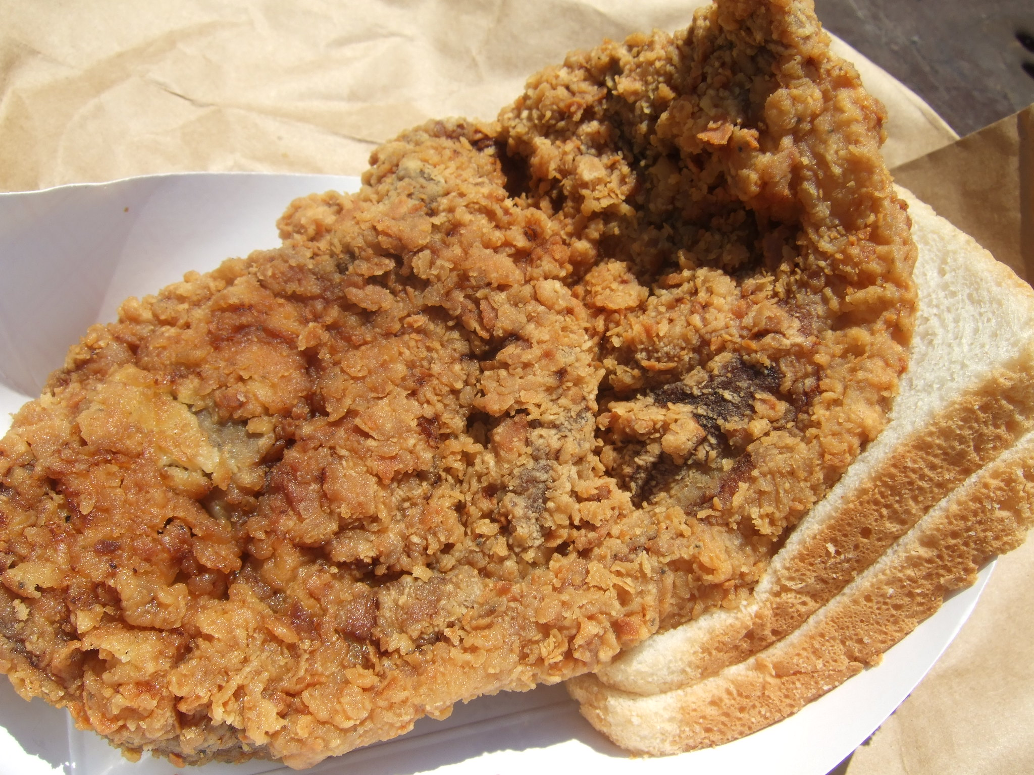 Fried Pork Chop - photo by Houston Foodie under CC BY 2.0