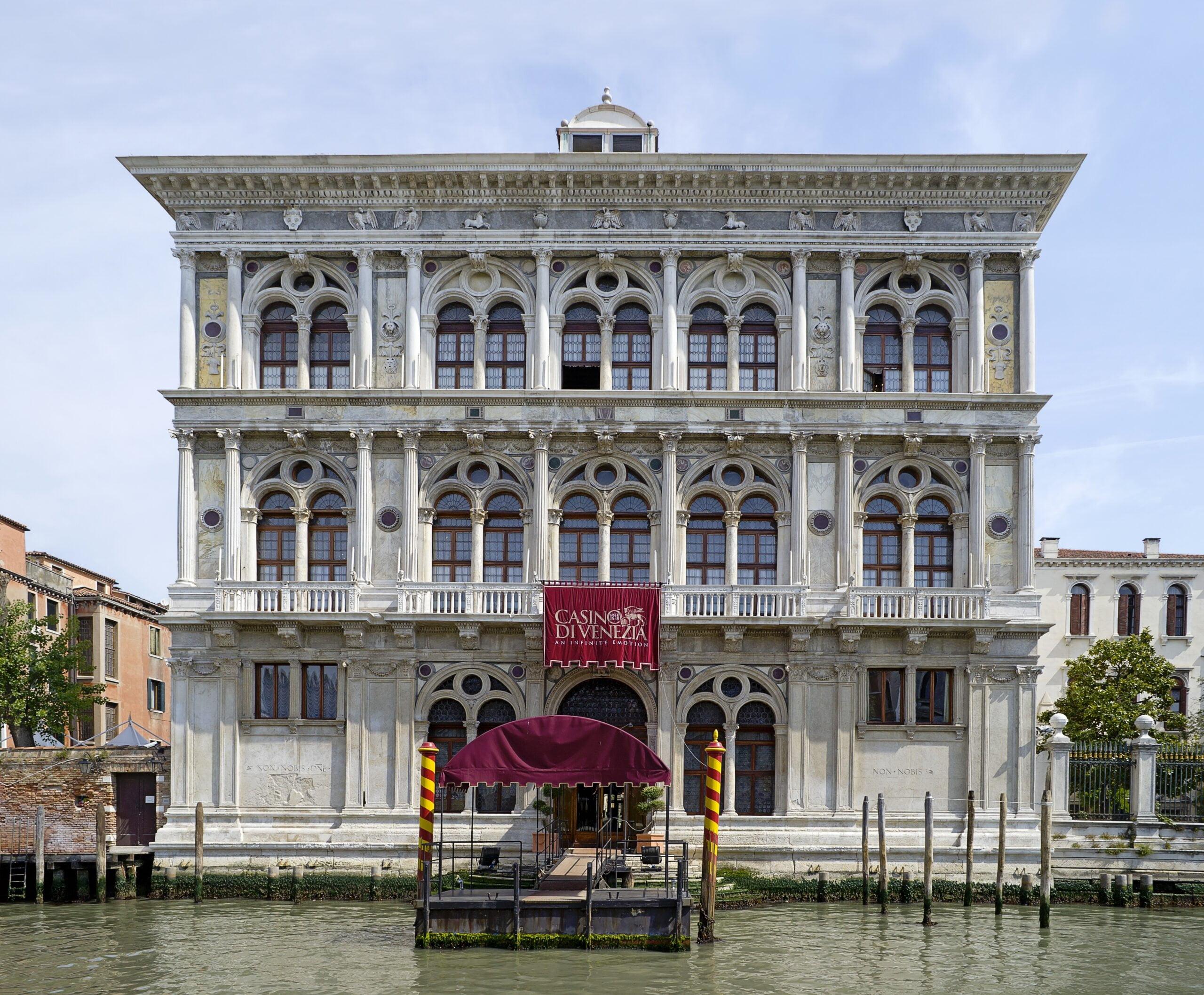 Venice Casino, Venice - Photo by Didier Descouens under CC BY-SA 4.0